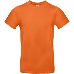 vaatteet Miehet Lyhythihainen t-paita B And C TU03T Urban Orange