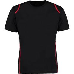 vaatteet Miehet Lyhythihainen t-paita Gamegear Cooltex Black/Red