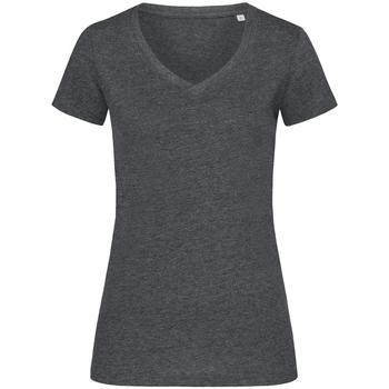 vaatteet Naiset Lyhythihainen t-paita Stedman Stars  Charcoal Heather Grey