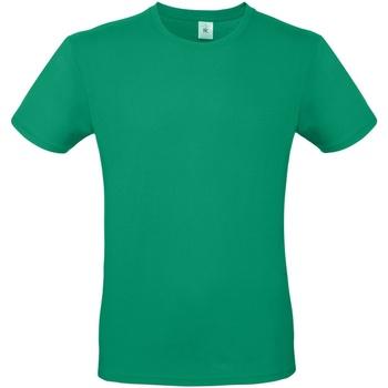 vaatteet Miehet Lyhythihainen t-paita B And C TU01T Kelly Green