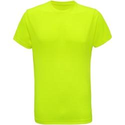 vaatteet Miehet Lyhythihainen t-paita Tridri TR010 Lightning Yellow