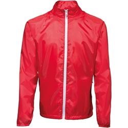 vaatteet Miehet Tuulitakit 2786  Red/ White