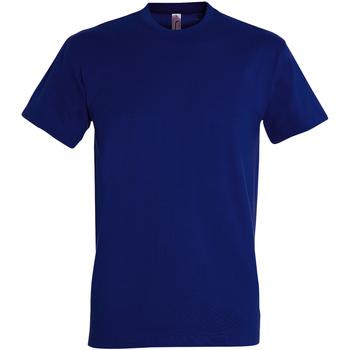 vaatteet Miehet Lyhythihainen t-paita Sols 11500 Ultramarine
