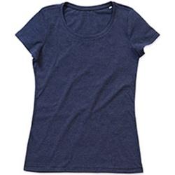 vaatteet Naiset Lyhythihainen t-paita Stedman Stars Lisa Navy Heather