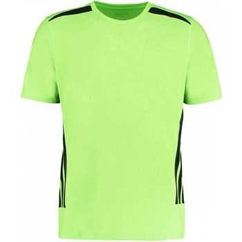 vaatteet Miehet Lyhythihainen t-paita Gamegear KK930 Fluorescent Lime/Black
