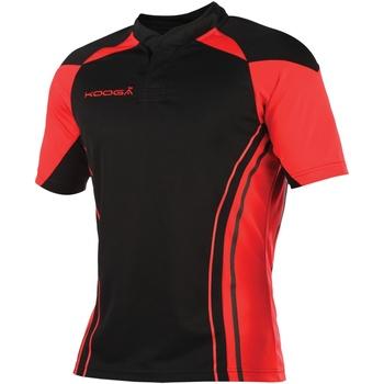 vaatteet Miehet Lyhythihainen t-paita Kooga KG107 Black/Red