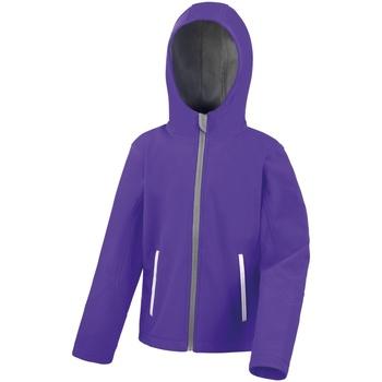 vaatteet Lapset Tuulitakit Result R224JY Purple/Grey