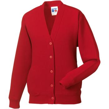 vaatteet Lapset Neuleet / Villatakit Jerzees Schoolgear 273B Classic Red