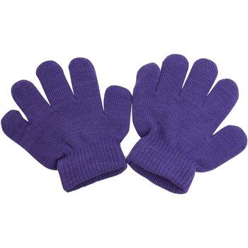 Asusteet / tarvikkeet Pojat Hanskat Universal Textiles  Purple