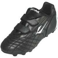 kengät Pojat Jalkapallokengät Mirak Forward Velcro Moulded Black/Silver