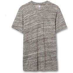 vaatteet Miehet Lyhythihainen t-paita Alternative Apparel AT001 Urban Grey