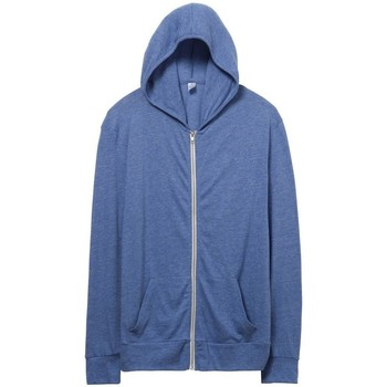 vaatteet Miehet Svetari Alternative Apparel AT002 Eco Pacific Blue