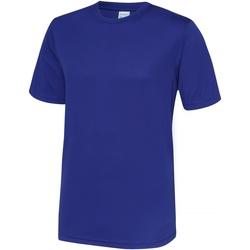vaatteet Miehet Lyhythihainen t-paita Awdis JC001 Reflex Blue