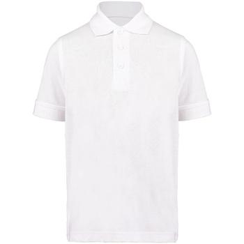 vaatteet Pojat Lyhythihainen poolopaita Kustom Kit KK406 White