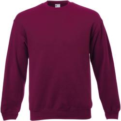 vaatteet Miehet Svetari Universal Textiles 62202 Oxblood