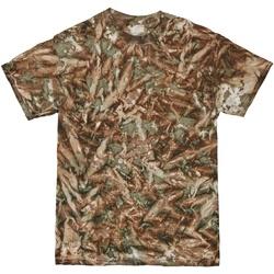 vaatteet Miehet Lyhythihainen t-paita Colortone TD08M Camo