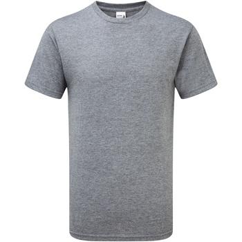 vaatteet Miehet Lyhythihainen t-paita Gildan H000 Graphite Heather