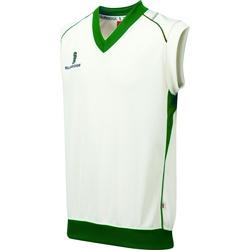 vaatteet Pojat Hihattomat paidat / Hihattomat t-paidat Surridge Curve White/ Green Trim