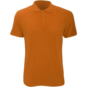 vaatteet Miehet Lyhythihainen poolopaita Anvil 6280 Mandarin Orange