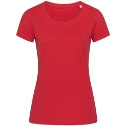 vaatteet Naiset Lyhythihainen t-paita Stedman Stars  Pepper Red