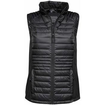 vaatteet Miehet Toppatakki Tee Jays TJ9625 Black/Black