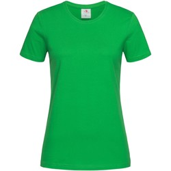 vaatteet Naiset Lyhythihainen t-paita Stedman  Kelly Green