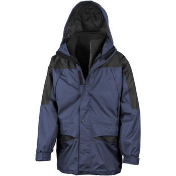vaatteet Miehet Tuulitakit Result Alaska Navy/Black
