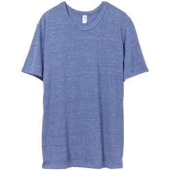 vaatteet Miehet Lyhythihainen t-paita Alternative Apparel AT001 Eco Pacific Blue