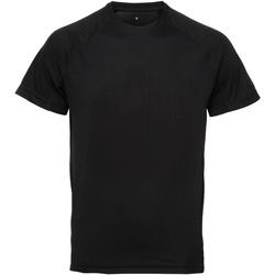 vaatteet Miehet Lyhythihainen t-paita Tridri TR011 Black