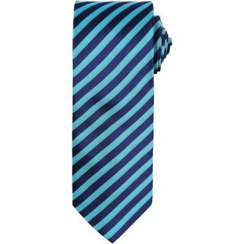 vaatteet Miehet Solmiot ja asusteet Premier PR782 Turquoise/ Navy