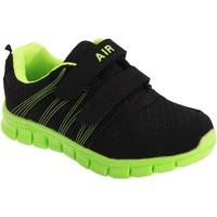 kengät Pojat Urheilukengät Dek  Black/Lime
