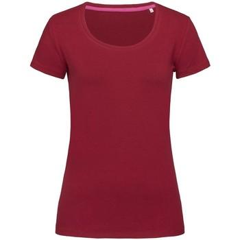 vaatteet Naiset Lyhythihainen t-paita Stedman Stars  Bordeaux