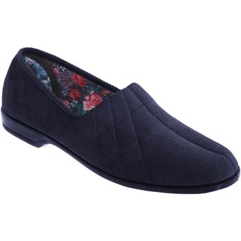 kengät Naiset Tossut Sleepers Audrey Navy Blue