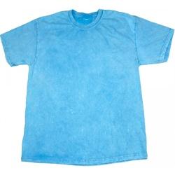 vaatteet Miehet Lyhythihainen t-paita Colortone Mineral Baby Blue