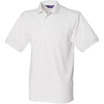 vaatteet Miehet Lyhythihainen poolopaita Henbury HB400 Ash