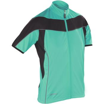 vaatteet Naiset Fleecet Spiro S188F Aqua / Black