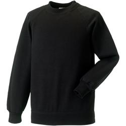 vaatteet Lapset Svetari Jerzees Schoolgear 7620B Black