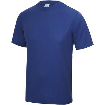 vaatteet Lapset Lyhythihainen t-paita Awdis JC01J Royal Blue