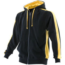 vaatteet Miehet Svetari Finden & Hales LV330 Black/Yellow