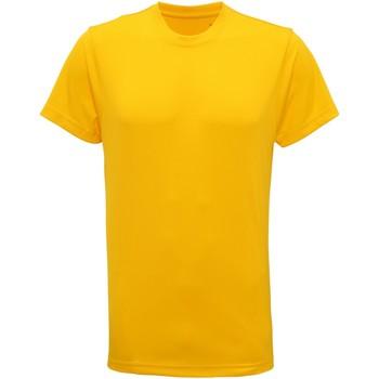 vaatteet Miehet Lyhythihainen t-paita Tridri TR010 Sun Yellow