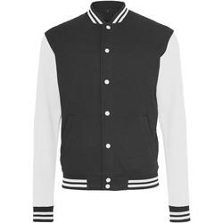 vaatteet Miehet Pusakka Build Your Brand BY015 Black/White