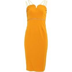 vaatteet Naiset Lyhyt mekko Girls On Film Midas Yellow