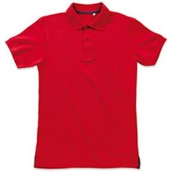 vaatteet Miehet Lyhythihainen poolopaita Stedman Stars Henry Crimson Red