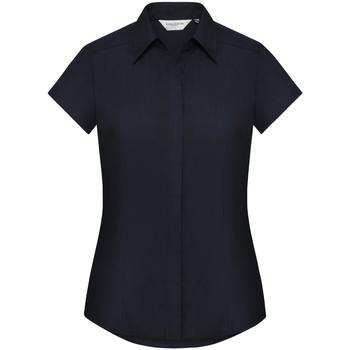 vaatteet Naiset Paitapusero / Kauluspaita Russell 925F French Navy