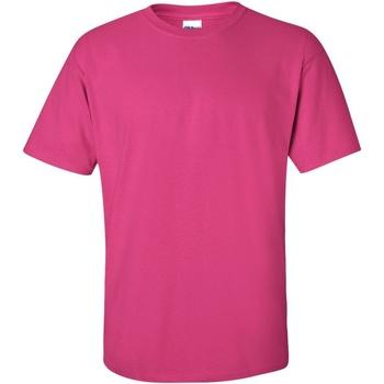 vaatteet Miehet Lyhythihainen t-paita Gildan Ultra Heliconia