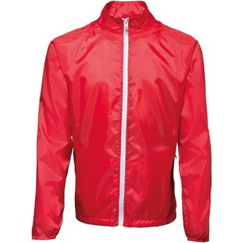 vaatteet Miehet Tuulitakit 2786 TS011 Red/ White