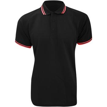 vaatteet Miehet Lyhythihainen poolopaita Kustom Kit KK409 Black/Red