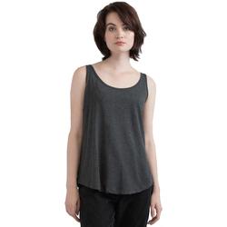 vaatteet Naiset Hihattomat paidat / Hihattomat t-paidat Mantis M92 Charcoal Grey Melange