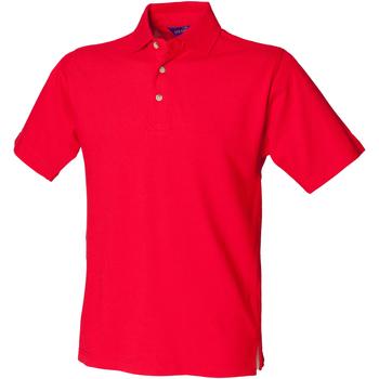vaatteet Miehet Lyhythihainen poolopaita Henbury HB100 Classic Red