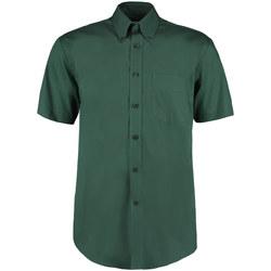 vaatteet Miehet Lyhythihainen paitapusero Kustom Kit KK109 Bottle Green